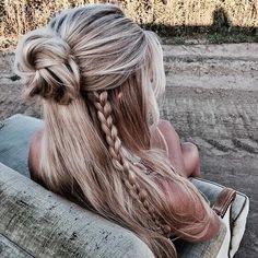 #blondehair #hairstyle