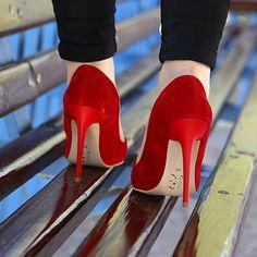 Kırmızı Stiletto - Ayakkabı Çanta Dükkanı