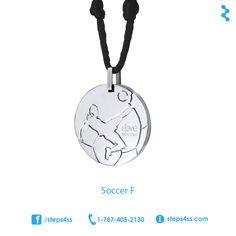 Collar de fútbol soccer femenino para recaudar fondos.   #clasesgraduandas #recaudarfondos #collarcristiano #ideaspararecaudarfondos #Pararecaudarfondos #RecaudaciondeFondos #soccer