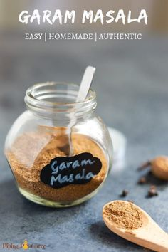 Elevate your indian cooking to the next level with this Authentic Homemade Garam Masala Recipe! #garammasala #indian #spiceblend #pipingpotcurry | pipingpotcurry.com