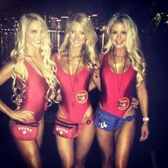 Ideas & Accessories for your DIY Baywatch Halloween Group Costume Idea