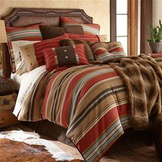 Delectably Yours Calhoun Southwestern Bedding Comforter Set by HiEnd Accents