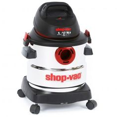 Shop-Vac 5986000 Peak HP Stainless Steel Wet Dry Vacuum Shop-Vac 5 gallon Peak HP stainless steel can handle any cleaning job. Best Upright Vacuum Cleaner, Wet Dry Vacuum Cleaner, Best Vacuum, Vacuum Cleaners, Deep Carpet Cleaning, Carpet Cleaning Machines, How To Clean Carpet, Diy Cleaning Products, Cleaning Hacks