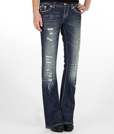 Miss Me Blowout Boot Stretch Jean