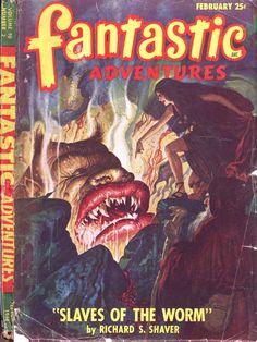 Comic Book Cover For Fantastic Adventures v10 02