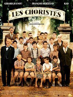 Les choristes; comédia; 2004; legenda em francês; 92 min