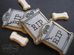 Headstone Cookies