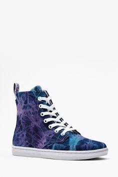 Teen Daze Sneaker - Tie Dye