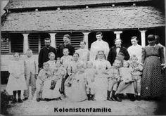 Kolonistenfamilie Suriname