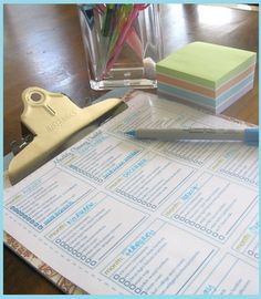 a better routine for cleaning the house (great printables)