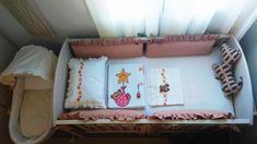 Nursery baby bed infant baby basket