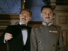 Roger Livesey and Anton Walbrook in Powell & Pressburger's The Life and Death of Colonel Blimp (1943)