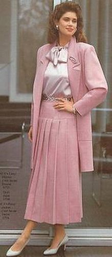80s Fashion, Modest Fashion, Timeless Fashion, Vintage Fashion, Fashion Outfits, Classy Business Outfits, Proper Attire, Beautiful Suit, Modest Wear