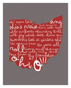 Hey, I found this really awesome Etsy listing at http://www.etsy.com/listing/157281813/ohio-state-university-wall-art