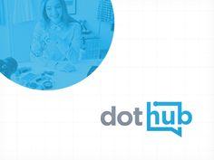 Final DotHub Logotype for Agência Doting  -  Logotipo final do DotHub, feito para Agência Doting.  http://rafaeloliveira.design