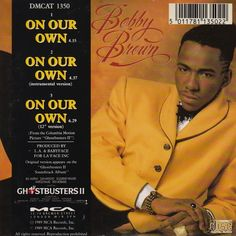 Funk-Disco-Soul-Groove-Rap: Bobby Brown - On Our Own