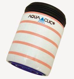 Spart bis zu 50% Wasser und Energie am Wasserhahn: AquaClic Framboise aus Messing.