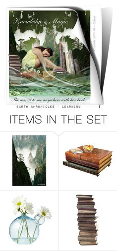 """""""Earth Chronicles ~ School"""" by artspirit ❤ liked on Polyvore featuring art, Awesomeart and gristello"""