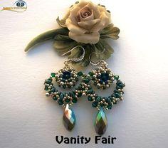 Vanity Fair Earrings on Etsy