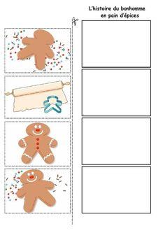 Activities For Girls, Work Activities, Speech Language Therapy, Speech And Language, Speech Therapy, Gingerbread Man Activities, Christmas Gingerbread Men, Core French, Kindergarten Worksheets