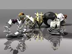 FINAL GROUP RENDER by Tresdemented, via Flickr
