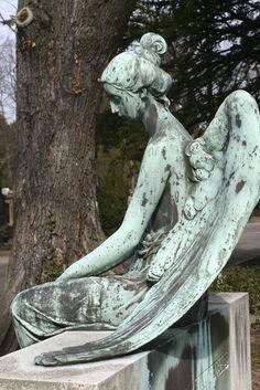 Seated angel...