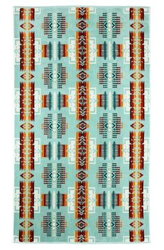 Great prints, high quality; it's easy to love Pendleton's products. When I saw that it was bringing back some of its oldest Native American blanket patterns in the form of oversize, cotton velour beach towels ($48), I was immediately on board.
