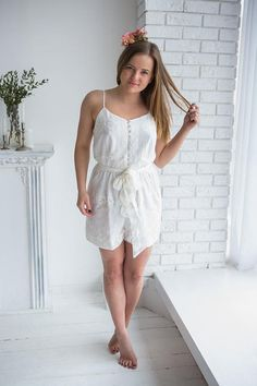 ae2d46e23c76  55 Bridal Romper from my Paris Inspirations Collection - Belted Slip Style  Romper Bridesmaid Rompers