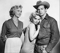 Bus Stop is a 26-episode American drama which aired on ABC from October 1, 1961, until March 25, 1962, starring Marilyn Maxwell as Grace Sherwood, the owner of a bus station and diner in the fictitious town of Sunrise in the Colorado Rockies.