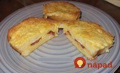 Namiesto klasického chlebíka vo vajíčku skúste toto, ide o veľmi chutnú obmenu klasického receptu - s kyslou smotanou, syrom, klobásku a čo je najlepšie úplne bez vyprážania.