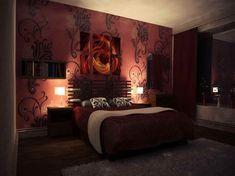 romantic sexy bedrooms  | Sexy Bedroom Decor with grey rug