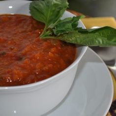 Rustic Tomato Soup by mywholefoodlife