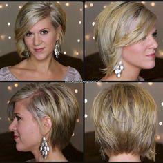 Womens Short Asymmetrical Hairstyles ( RaDona's New Haircut). Womens Short Asymmetrical Hairstyles ( RaDona's New Haircut) ---Several people has Short Asymmetrical Hairstyles, Short Layered Haircuts, Short Hairstyles For Women, Hairstyles Haircuts, Short Hair Cuts, Short Hair Styles, Haircut Short, Popular Hairstyles, Blonde Hairstyles
