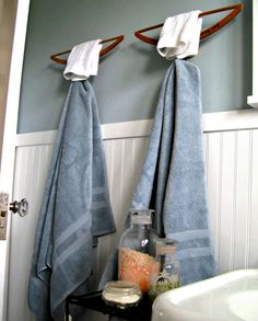 Repurpose: Hang on to your Wood Hangers!