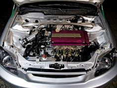 honda civic coupe engine -