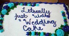 Cake Wrecks - Home - pix of cakes gone wrong Cakes Gone Wrong, Cake Disasters, Funny Translations, Bad Cakes, Coke Cake, Funny Wedding Cakes, Cake Writing, Funny Cake, Cake Wrecks