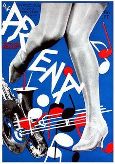 """J. Heartfield """"Arena"""" magazine cover"""