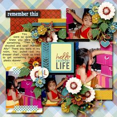 Template is from HIGH FIVE by Angelclaud Artroom.  now available at Gotta Pixel for less 25%. Used Aprilisa Designs' Little Bits of Life Collection  available at Gotta Pixel and Gingerscraps