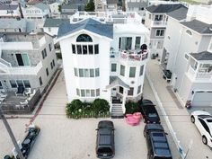 Garden State Parkway, Rooftop Deck, Vacation Home Rentals, Beach House, Street View, Ocean, Mansions, House Styles, Beach Homes