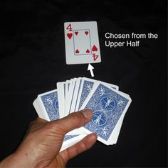 "If a young kid is going to perform a card trick, I think that this is the one. It's a basic ""find a card"" trick that is easy to learn and do."