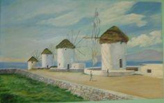 The-windmills-in-mykonos