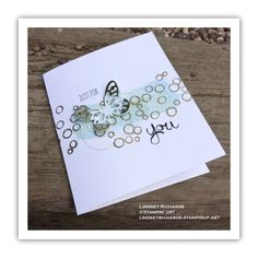 Playful Background, Timeless Textures and Butterfly Card by Lindsey Richards, Stampin' Up! Love Cards, Diy Cards, Card Making Inspiration, Making Ideas, Bird Theme, Stampin Up Catalog, Making Greeting Cards, Beautiful Handmade Cards, Butterfly Cards