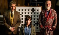 Reece Shearsmith as Tyler, Alexandra Roach as Nina and Steve Pemberton as Prof Nigel Squires. Comedy Series, Comedy Show, Inside No 9, Steve Pemberton, Reece Shearsmith, League Of Gentlemen, Hidden Tv, British Comedy, Laughing So Hard