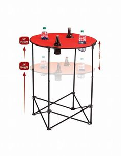 Picnic Plus by Spectrum Scrimmage Tailgate Table