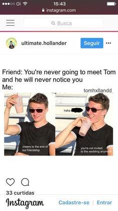 Holland or Hiddleston works for me Funny Marvel Memes, Marvel Jokes, Dc Memes, Really Funny Memes, Stupid Funny Memes, Funny Relatable Memes, Tom Holand, Harrison Osterfield, Avengers
