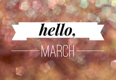 On The Blog: March Goals & Challenges