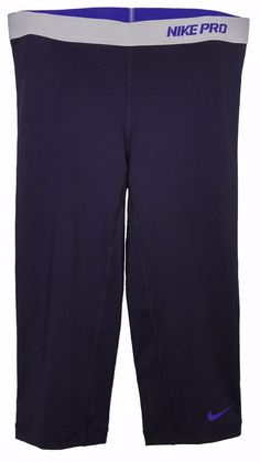 625185-383 New with tag Nike Women/'s nylon EPIC tight fit RUNNING capri pant