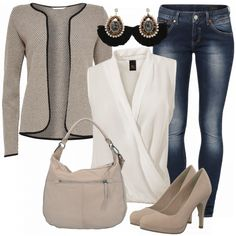 Infinity Damen Outfit - Komplettes Freizeit Outfit günstig kaufen | FrauenOutfits.de