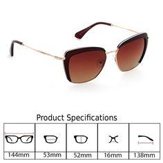 40a908b6a7a7 Amazon.com: DESPADA, Made In ITALY Fashion Cat eye Women Sunglasses Over  sized Polarized Lens DS1425c1 (Black, Dark Grey): Clothing