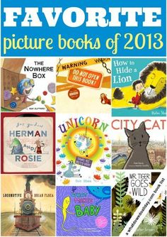 11 best picture books of 2013 for children. Click for entire list. Which ones have you read?